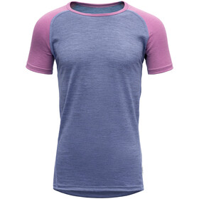 Devold Breeze T-Shirt Adolescents, bluebell